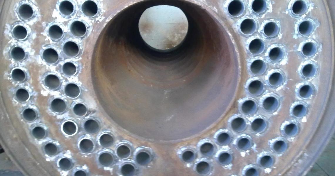 Reparación tubos