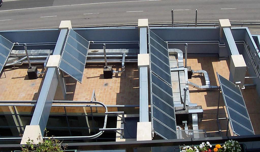 Hotel 4* Energía solar